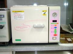 滅菌に使用する機器1