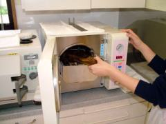 滅菌に使用する機器2